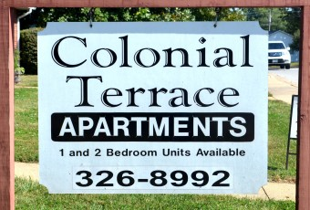 COLONIAL TERRACE APARTMENTS 28 Unit Apartment Complex – Wednesday, October 28, 12:00 NOON