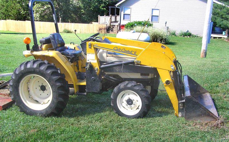 7260 Cub Cadet Tractor : Estate of sonny klipper friday september am