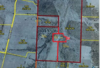 210 Acre Farm/Ranch With 3 Bedroom Home – Saturday, February 25, 12:00 NOON
