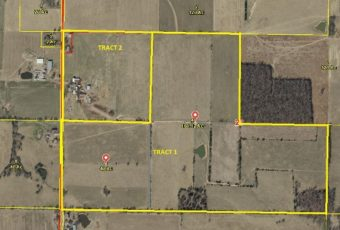 200 ACRES M/L SOLD IN 2 TRACTS -SATURDAY, OCTOBER 28, 10:00 AM